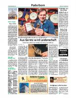 2015-12-09 Nachbarschaft Paderborn Ost nimmt Arbeit auf – Ganze Zeitungsseite