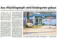 2016-03-10 Aus Flüchtlingstopf wird Kindergarten gebaut